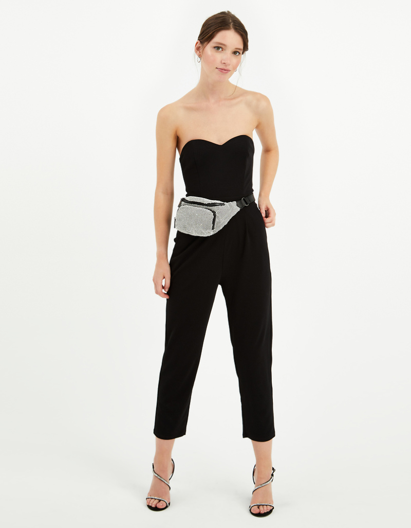 Black Jumpsuit by Tally W Ei Jl