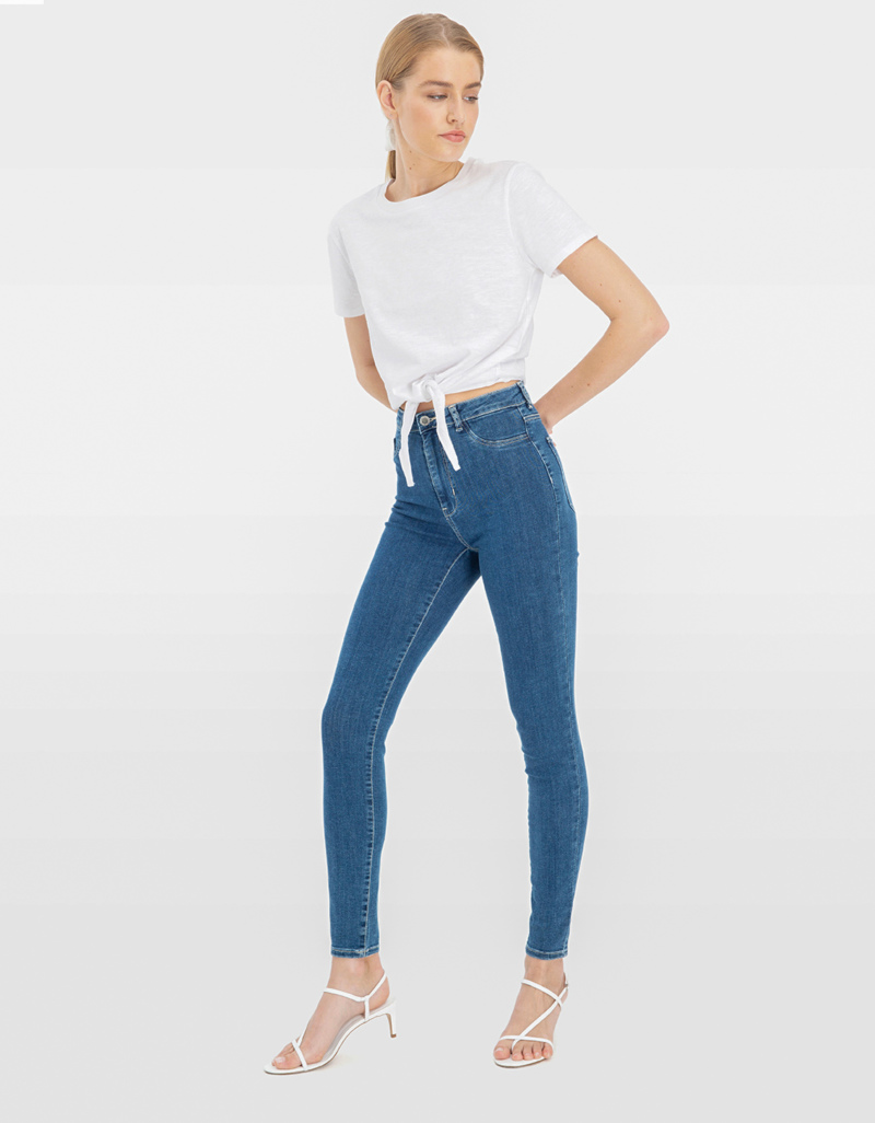 authentic quality hot new products arriving High Waist Skinny Jeans | TALLY WEiJL Online Shop
